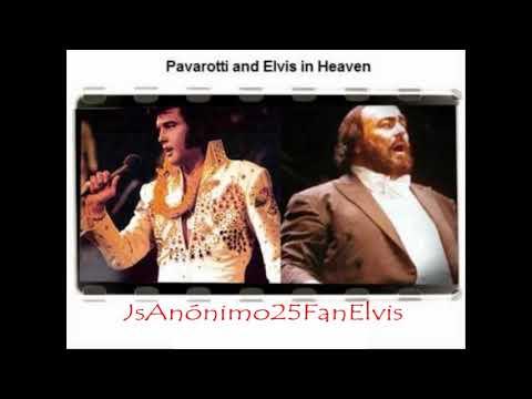 Elvis PRESLEY & Luciano PAVAROTTI ('O Sole Mio -  It's Now Or Never) HQ Audio
