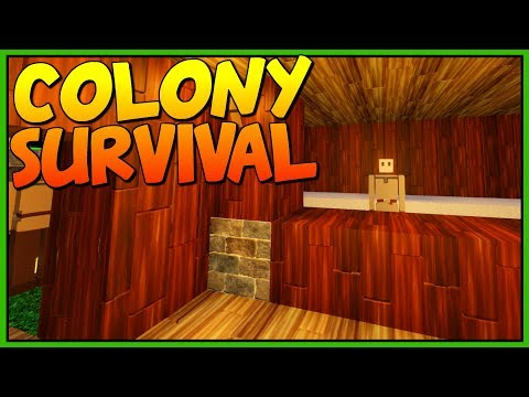 THE BREAD SHOP - Building the Bakery - Let's Play Colony Survival Gameplay