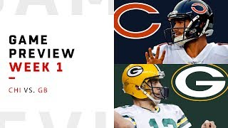 Chicago Bears vs. Green Bay Packers | Week 1 Game Preview | NFL Playbook