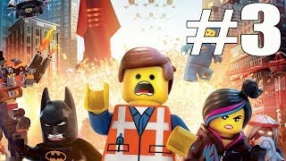 The Lego Movie Video Game Walkthrough Part 3 No Commentary Gameplay ...