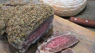 видео Как приготовить вяленое мясо