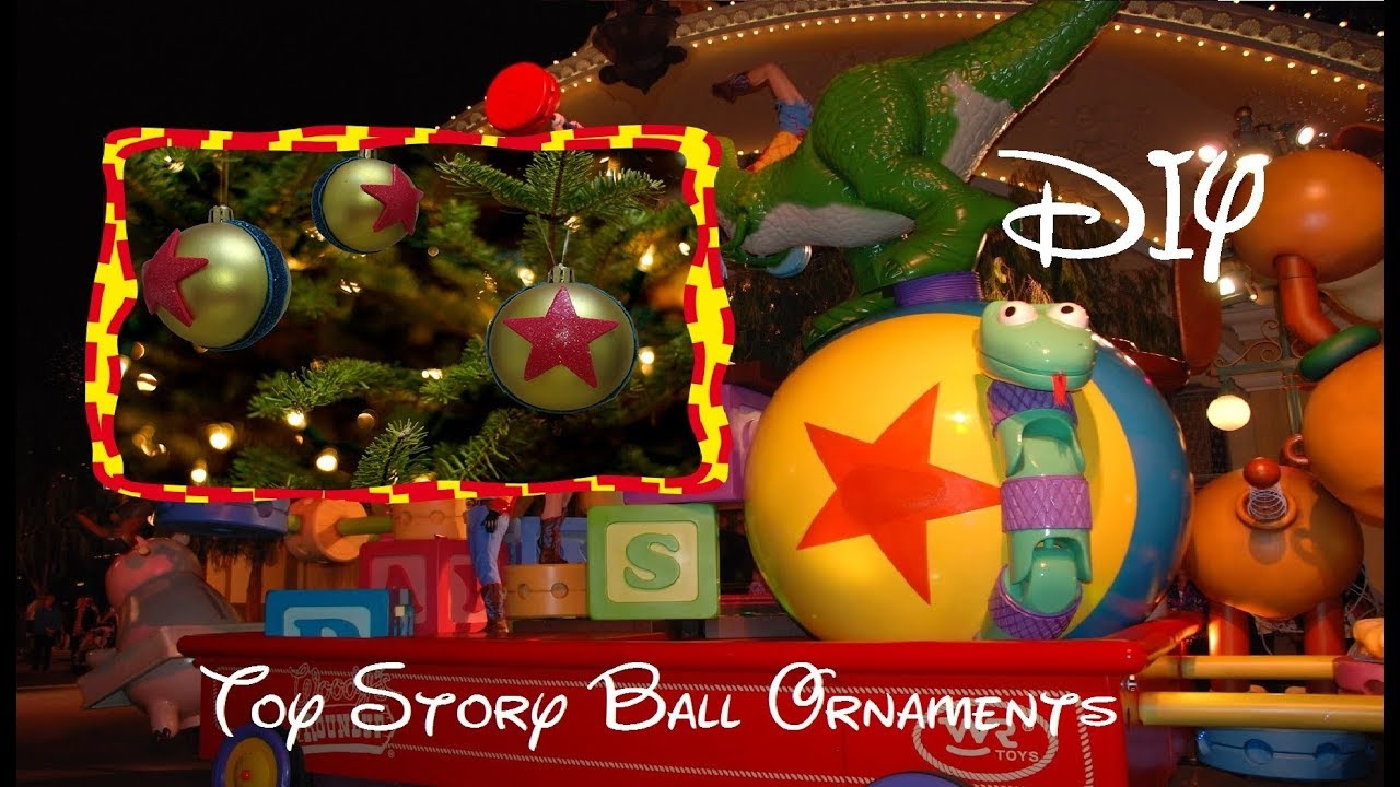 Toy Story Christmas Ornaments.Toy Story Ball Ornament