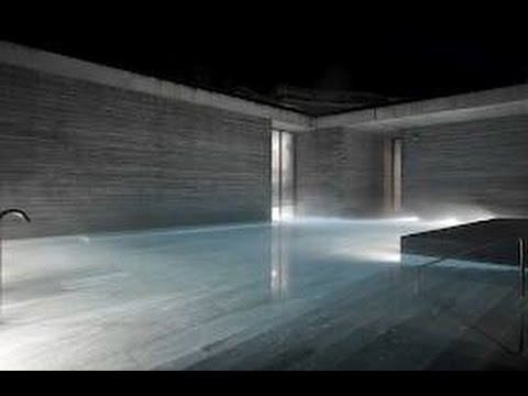 peter zumthor therme in vals youtube. Black Bedroom Furniture Sets. Home Design Ideas