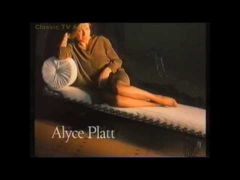 1993 Kicks Kolotex ad with Alyce Platt