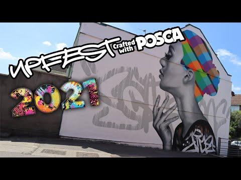 Upfest 2021 - Bristol's urban street art festival