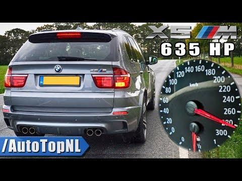635HP BMW X5M ACCELERATION 0-280km/h DRAGY GPS By AutoTopNL