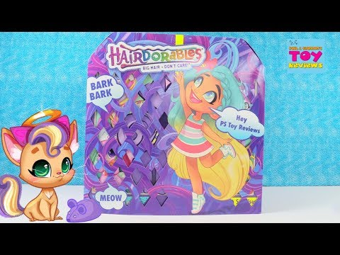 NEW Hairdorables Pets Series 1 Blind Box Toy Opening Review | PSToyReviews