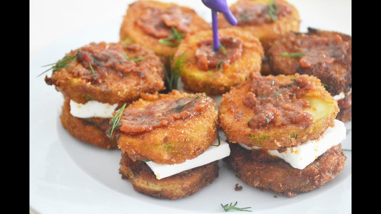 Peynirli Atıştırmalık Kabak Pane Tarifi- Pratik Tarifler