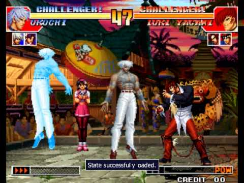 King of Fighters '97 [Arcade] - play as Orochi