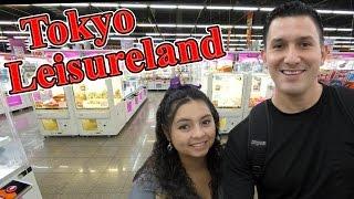 Tokyo Leisureland Arcade in Tokyo, Japan!