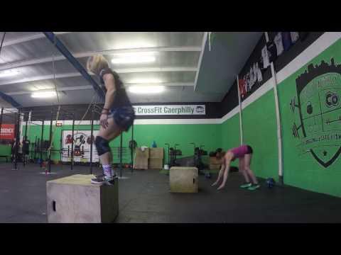 Bodyexpowod2 Sarah Lowman & Rebecca Lewis CrossFit Caerphilly