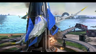 14 Minutes of Star Fox Zero with Audio (Off-screen)