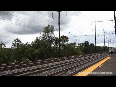 Amtrak & NJ Transit at Jersey Avenue