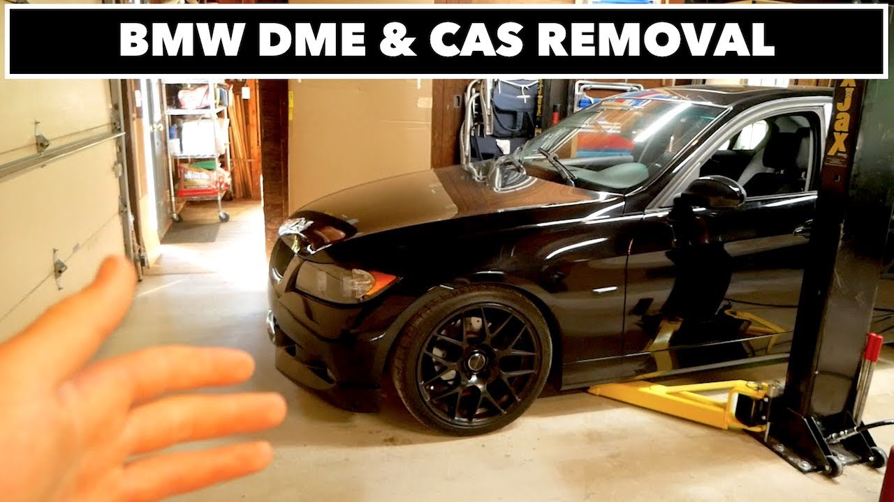 MY BMW IS DEAD // DME & CAS REMOVAL