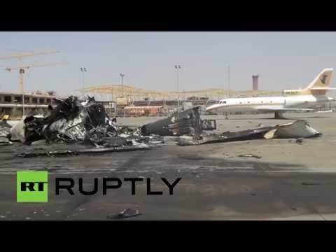 Tripoli Airport Battle: Rockets destroy 90% of civilian aircrafts