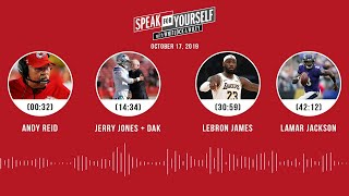 SPEAK FOR YOURSELF Audio Podcast (10.17.19)with Marcellus Wiley, Jason Whitlock | SPEAK FOR YOURSELF
