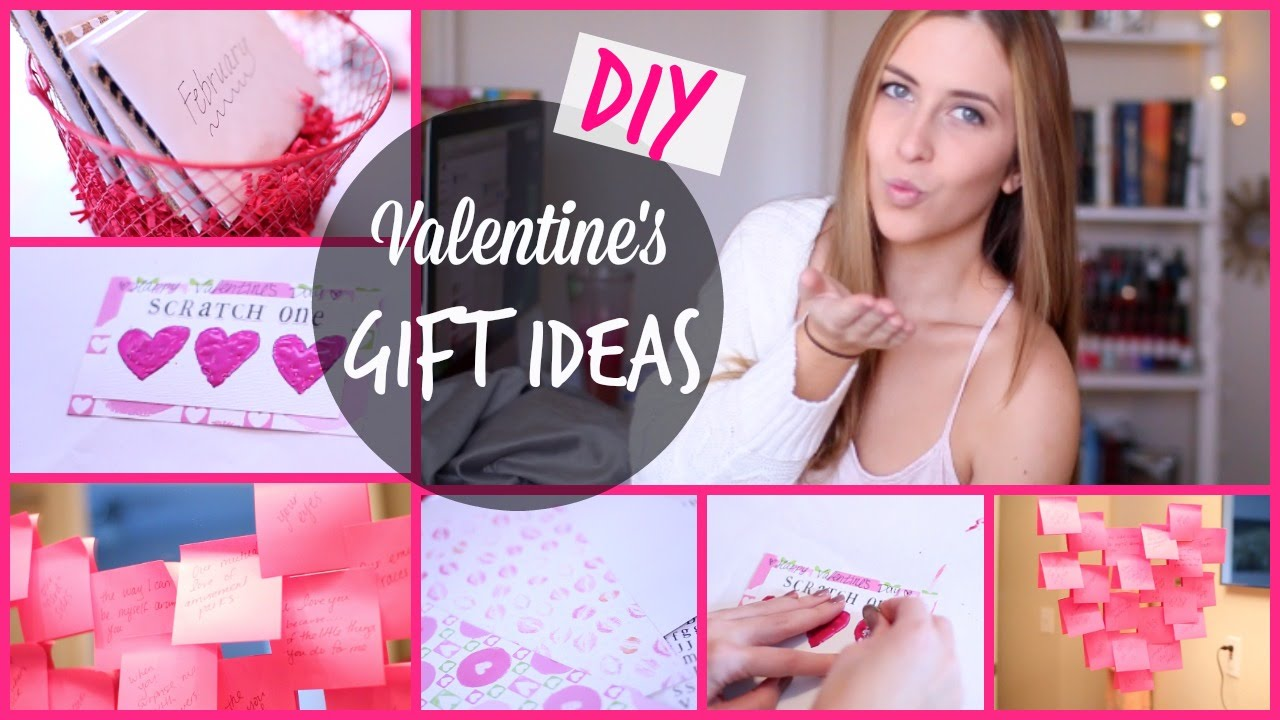 diy valentines day gift ideas for him her courtney lundquist youtube