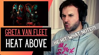 Greta Van Fleet - Heat Above || REACTION