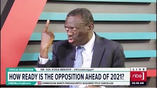 Dr Kizza Besigye's Perspective on National Politics| NBS Topical Discussion