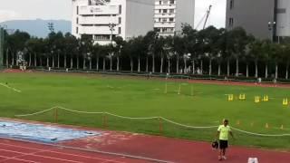 筲箕灣崇真學校4x10O米接力賽(屈臣氏田徑會周年大賽2O1