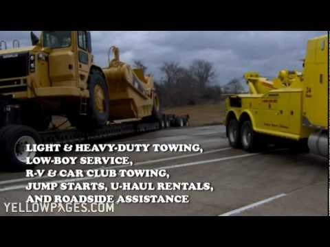 West Monroe LA Heavy Lifting Donnie Plunk's Towing & Recover