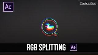 After Effects Tutorial: RGB Splitting - Glitch Effect (No Plugins)