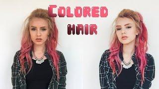ЦВЕТНЫЕ ВОЛОСЫ. Как красить тоникой? Ответы на частые вопросы об окрашивании волос(, 2015-07-21T17:59:14.000Z)