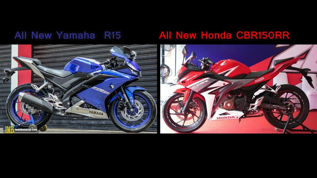 bike of the year] all new yamaha r15 v3.0 my 2017 vs all new honda