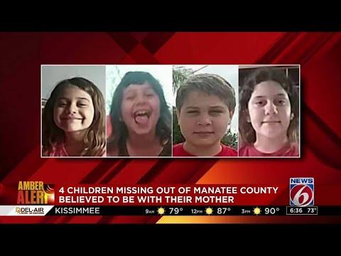 Amber Alert issued for 4 Florida children