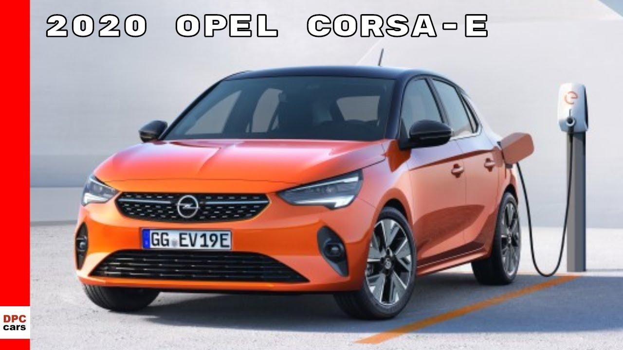 2020 opel vauxhall corsa - corsa-e electric - youtube