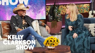 Kelly To Jason Aldean On Cleaning Kids' Poop Off A Car Seat: 'You Need A Power Washer For That'