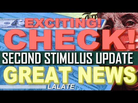 FINALLY! SECOND STIMULUS CHECK NEW BILLS GREAT NEWS! | SSI SSDI SS SSA VA | Second Stimulus Package!