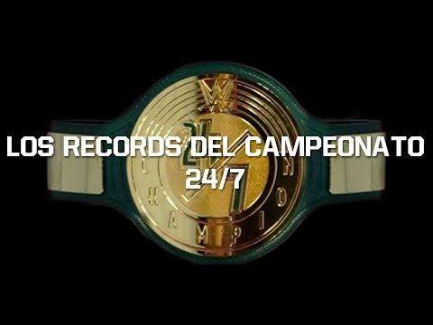 Los Records del Campeonato 24/7