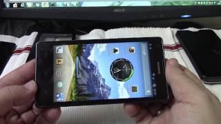 Смартфон HUAWEI Ascend G700 Презентация