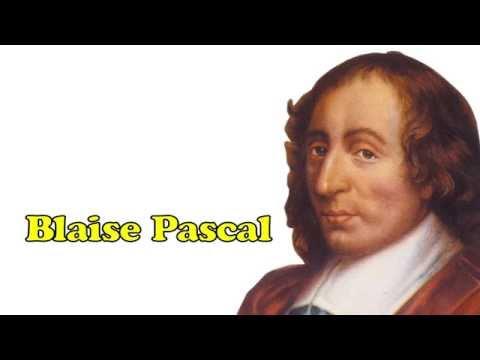 Famous Scientist - Blaise Pascal