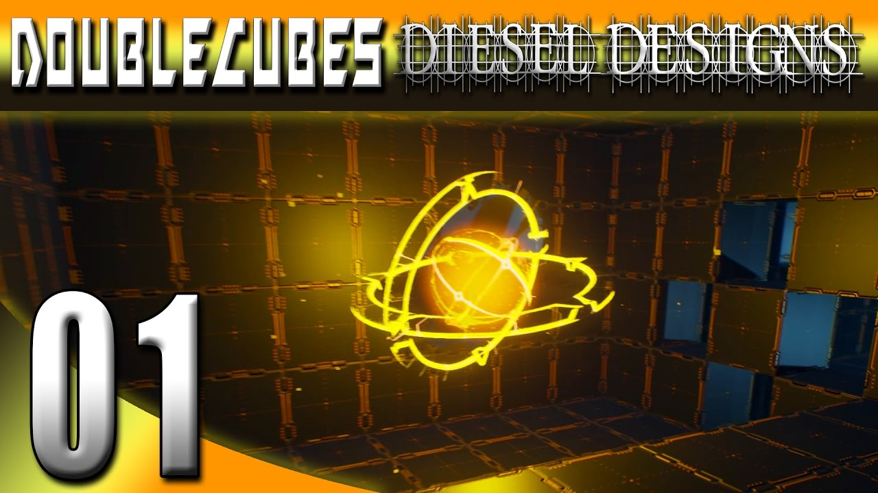 Double Cubes Gameplay :EP1: Futuristic Indie Puzzle Game! (HD Early Access Lets Play PC)