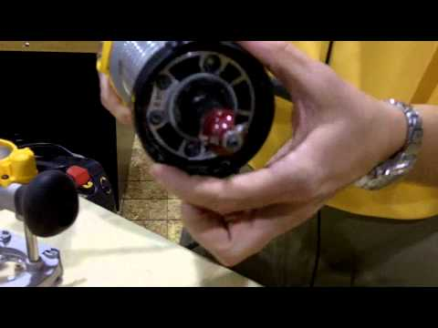 The DeWalt Router at IWF 2010 Presented by Woodcraft
