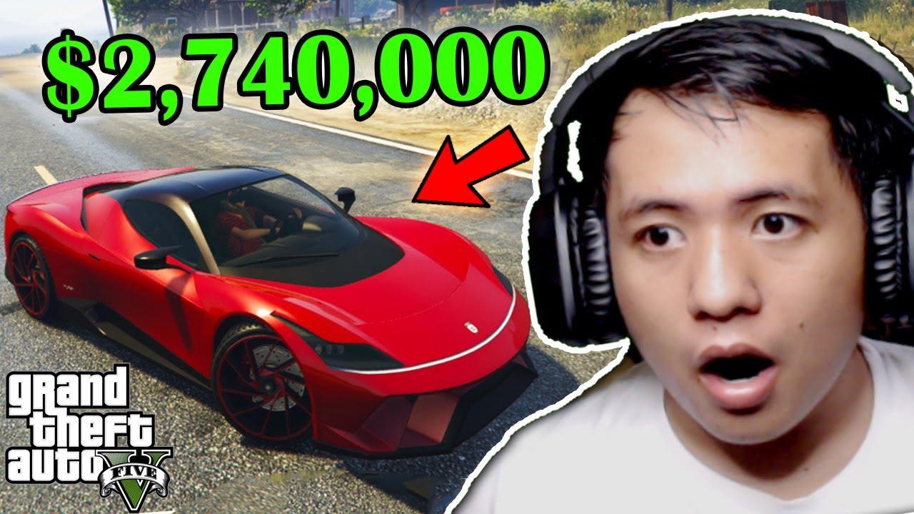 My NEW $2,740,000 SUPER CAR sa GTA 5 ONLINE (Grabe ang Tambutso!!)