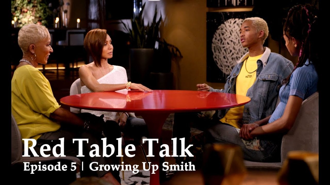 Red Table Talk Episode 5 Growing Up Smith Recap