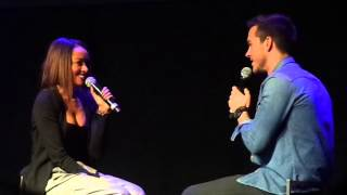 """Kat and Chris """"bonnie and Kai speed dating"""" BNCE 3 - day 2"""
