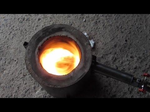 Metal Casting at Home Part 48 Waste Oil Burner Improvements