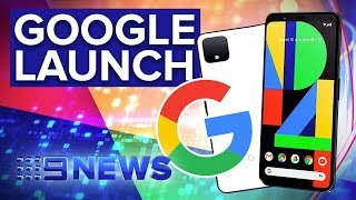 Hands on with the new Google Pixel 4 | Nine News Australia