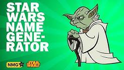 Star Wars Names ‐ Star Wars Name Generator