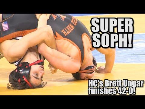 Hunterdon Central's Brett Ungar Wins 106 Lb NJ State Title