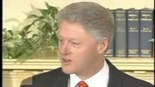 President Bill Clinton - Response to Lewinsky Allegations thumbnail