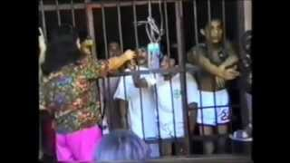 Philippines Prisoners Boxing Outside Jail
