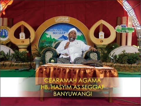 Ceramah  Agama HB. Hasyim Banyuwangi Dalam Acara Ikhtibar Di Pesantren Al Utsmani Beddian
