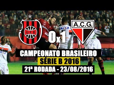 G.E.Brasil 0x1 Atlético-GO - Série B 2016 - 23/08/2016