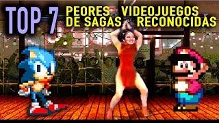 Top 7: Los PEORES  Videojuegos de Sagas Reconocidas.