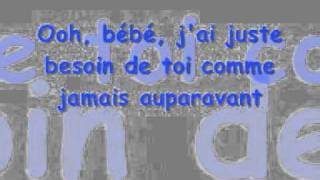 SCORPIONS - NO ONE LIKE YOU (PERSONNE COMME TOI) LYRICS FRANCAIS .